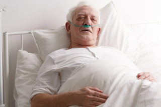 sick senior man PC47SMU