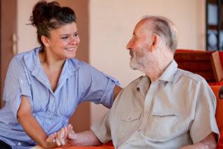 bigstock senior with nurse or carer 10973834